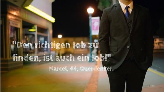 Richtigen Job finden